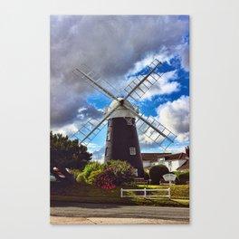 Stow Windmill Paston Canvas Print