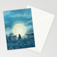 Rooftoppers - square format  Stationery Cards