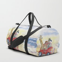 Go To The Beach Duffle Bag