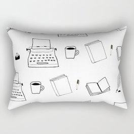 Write-or-Die (Pattern) Rectangular Pillow