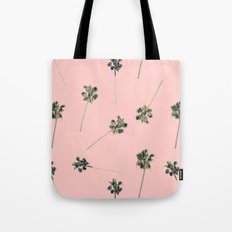 Palms on Pink Tote Bag