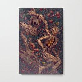 Tree People Metal Print