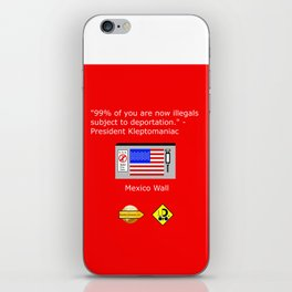 99% of Americans iPhone Skin
