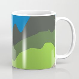Green mountain tops Coffee Mug