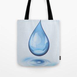 Water Drop Art Tote Bag
