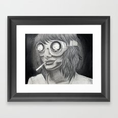 Self Destruct Framed Art Print