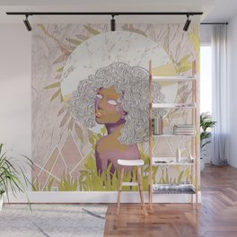 Marble Girl Wall Mural