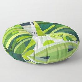 Town Green Floor Pillow