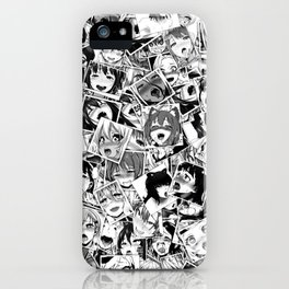 Ahegao iPhone Case