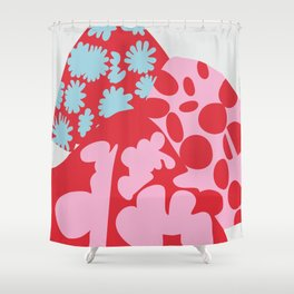 Fashion Mix Colors Shower Curtain