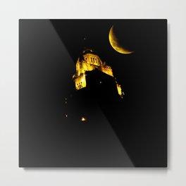 LeVeque At Night Metal Print