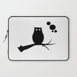 the owl awake Laptop Sleeve