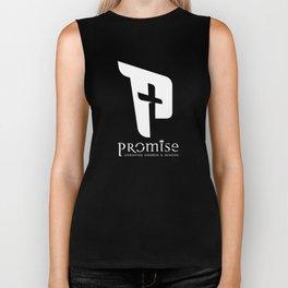 promise logo white Biker Tank