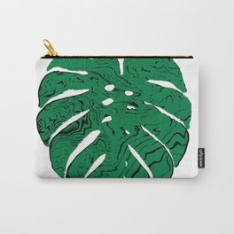 Monstera cheese plant house plants yoga studio minimalist art hipster decor Carry-All Pouch