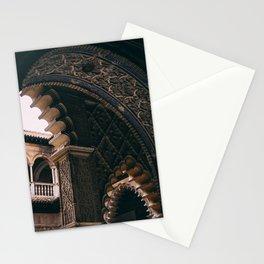 Moorish architecture Stationery Cards