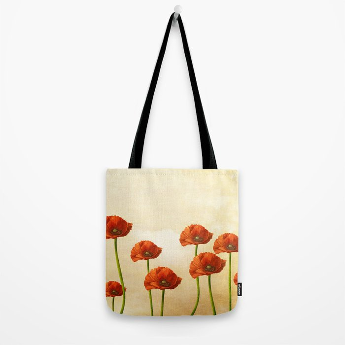 Where the Poppies Bloom Tote Bag