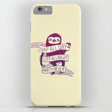 Sloth Life Slim Case iPhone 6s Plus