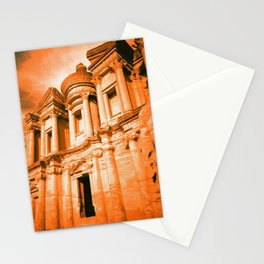 El Deir (The Monastery) Stationery Cards