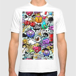 graffiti fun T-shirt