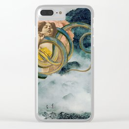 Cloud Mother Clear iPhone Case
