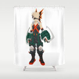 Bakugo Hero Academia Shower Curtain