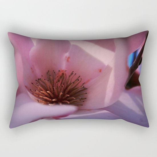 Sweet Pink  Magnolia Rectangular Pillow