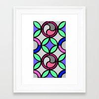 mosaic Framed Art Prints featuring Mosaic by Elena Indolfi