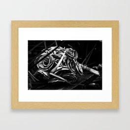 Shape & Bloom Framed Art Print