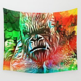 LOVE THE MONKEY Wall Tapestry