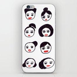 Sisterhood pattern iPhone Skin