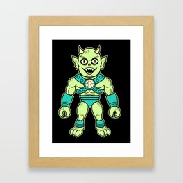 Murgus, The Sea Dewelling Sea Demon of the Sea Framed Art Print