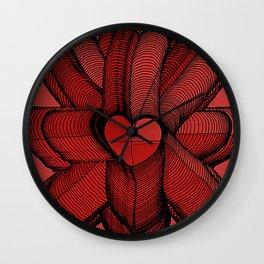 Meeting of Hearts - 3 Wall Clock