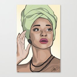 Chicks and Head Wraps 5 Canvas Print