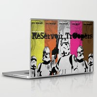 reservoir dogs Laptop & iPad Skins featuring ReServoir TrOopers by PIXEL MUNKI