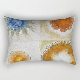 Lochometritis Being Flower  ID:16165-014048-97820 Rectangular Pillow