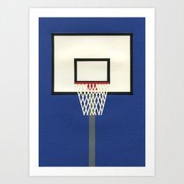 Oakland Basketball Team III Art Print