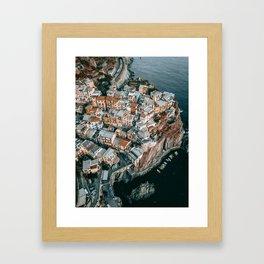 Italy - Cinque Terre Framed Art Print