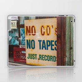 Just Records Laptop & iPad Skin