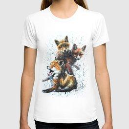 Little foxes T-shirt