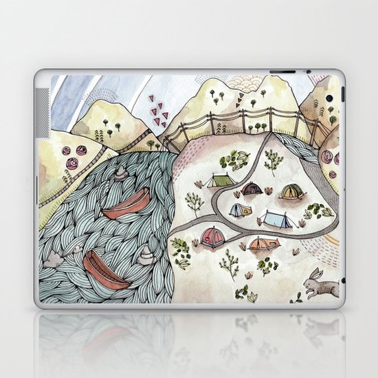 Desert Camp Laptop & iPad Skin