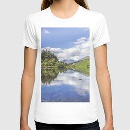 Llyn Mymbyr and Snowdon T-shirt