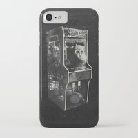donkey kong iPhone & iPod Cases featuring DONKEY KONG ARCADE MACHINE by UNDEAD MISTER / MRCLV