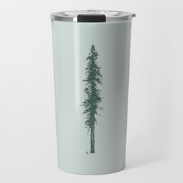 Love in the forest - sage Travel Mug