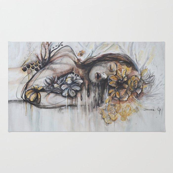 Abeille (bee) Rug