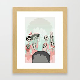 A visit from Heaven Framed Art Print