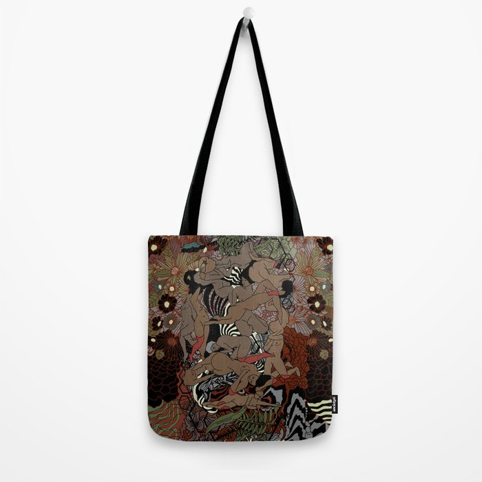 Beaded Nite Tote Bag