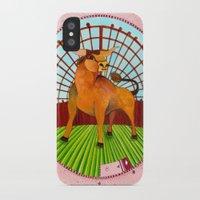 taurus iPhone & iPod Cases featuring Taurus by Sandra Nascimento