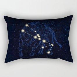 Zodiac constellations — Taurus Rectangular Pillow