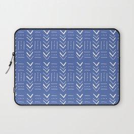 Geometric on dark blue ground Laptop Sleeve