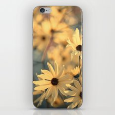 Autumn Botanical Muted Sunflowers iPhone & iPod Skin